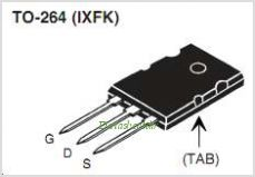 IXFK26N100P pinout,Pin out