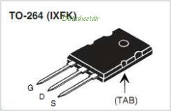 IXFK30N110P pinout,Pin out