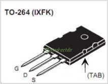 IXFK64N50P pinout,Pin out
