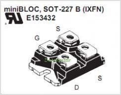 IXFN60N80P pinout,Pin out