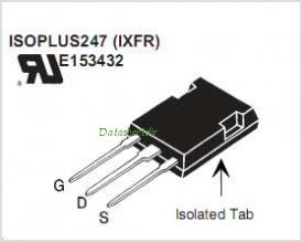 IXFR20N120P pinout,Pin out