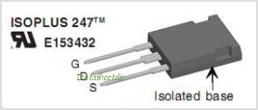 IXKR40N60C pinout,Pin out