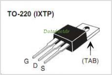 IXTA1N100P pinout,Pin out