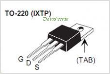 IXTA200N075T pinout,Pin out
