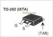 IXTA220N055T pinout,Pin out