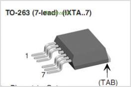 IXTA220N075T7 pinout,Pin out