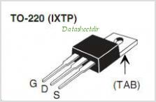 IXTA240N055T pinout,Pin out