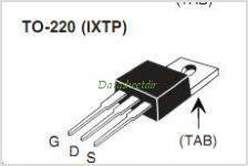IXTA3N100P pinout,Pin out