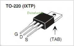 IXTA70N075T2 pinout,Pin out