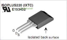 IXTC160N10T pinout,Pin out