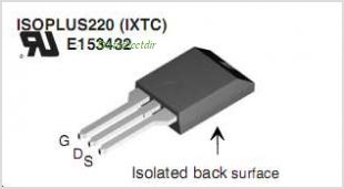 IXTC280N055T pinout,Pin out