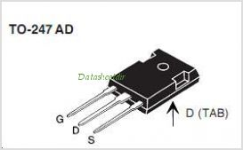 IXTH12N120 pinout,Pin out