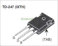 IXTH200N085T pinout,Pin out