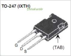 IXTH220N055T pinout,Pin out