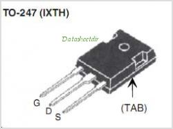 IXTH220N075T pinout,Pin out