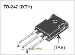 IXTH240N055T pinout,Pin out