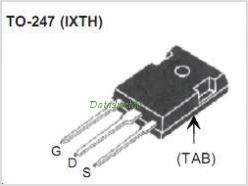 IXTH250N075T pinout,Pin out
