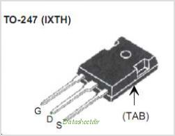 IXTH280N055T pinout,Pin out