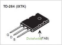 IXTK180N15P pinout,Pin out