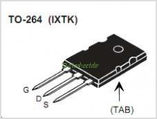 IXTK22N100L pinout,Pin out