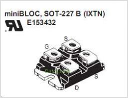 IXTN62N50L pinout,Pin out