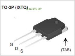 IXTQ52N30P pinout,Pin out