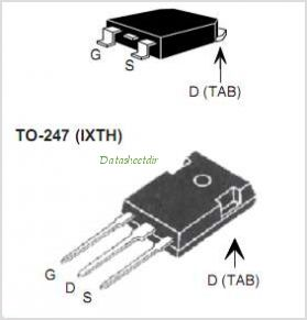 IXTT16P60P pinout,Pin out