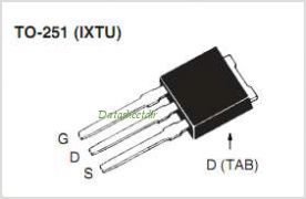 IXTU12N06T pinout,Pin out