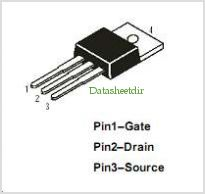 IRF1010E pinout,Pin out