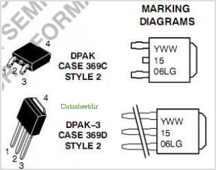NTD15N06L pinout,Pin out