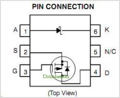 NTGD3147F pinout,Pin out