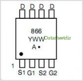 NTQD6866R2 pinout,Pin out