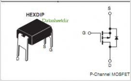 Mosfet canale P IRFD9024PBF IRFD9024 IRFD 9024