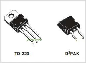 STB185N55F3 pinout,Pin out