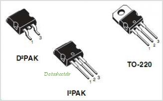 STB60NF10 pinout,Pin out