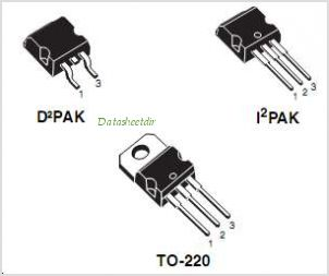 STB70NF03L pinout,Pin out