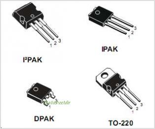 STD5NK52ZD pinout,Pin out