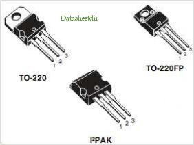 10N62K3 pinout,Pin out