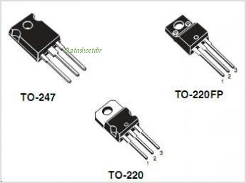 STP20NM60FD pinout,Pin out
