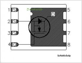 STL50NH3LL pinout,Pin out