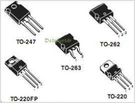 STB10NK60Z-1 pinout,Pin out