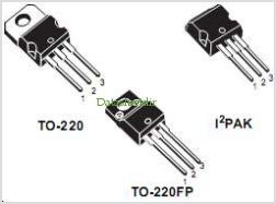 STP11NM60A pinout,Pin out