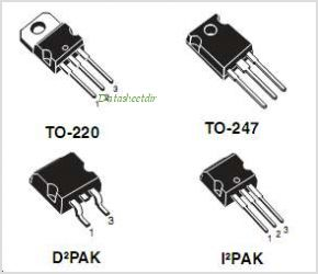STP130NS04ZB pinout,Pin out