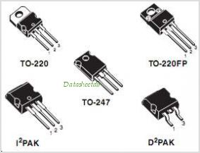 STP14NK50Z pinout,Pin out