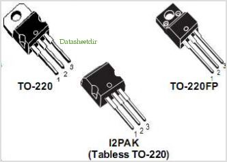 STP3NC90Z pinout,Pin out