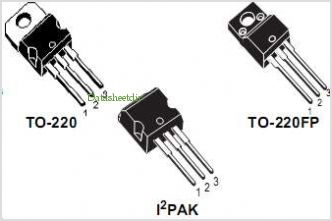 STP6NC60FP pinout,Pin out