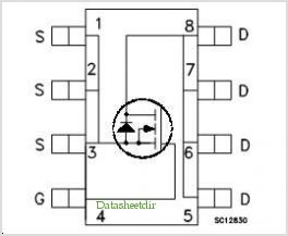 STS12NF30L pinout,Pin out