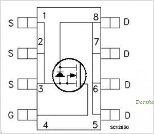 STS4NF100 circuits