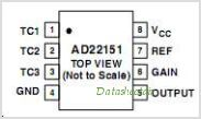 AD22151G pinout,Pin out