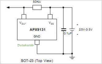 APX9131 circuits